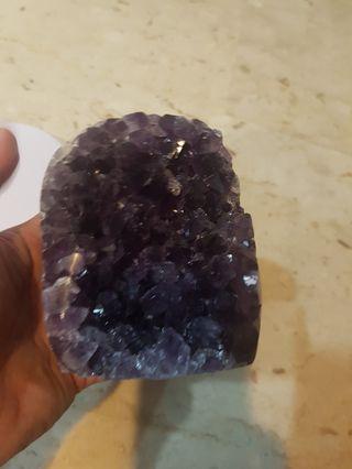 Amethyst slab geode 813g 紫水晶片