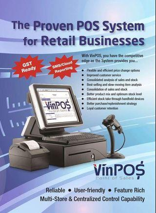 Retail Pos system | Retail P.O.S point of sale system | retail point of sale software