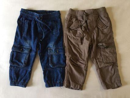 🚚 Jeans / Khaki Pants for 6-12 months baby