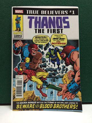 True Believers: Thanos the First