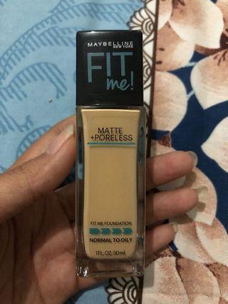 Maybelline Fit Me Matte Poreless Foundation 128