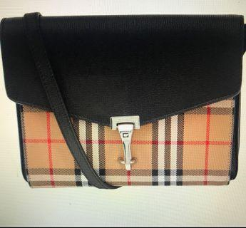 Burberry small vintage leather crossbody
