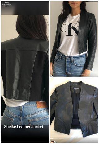 Sheike leather jacket sz 8