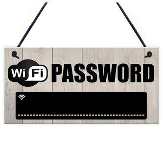 [PO] Perfect House Warming Gift WIFI Password Chalkboard Signage