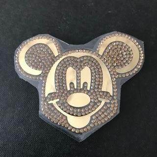 Iron On Hotfix/Rhinestones Mickey Mouse.