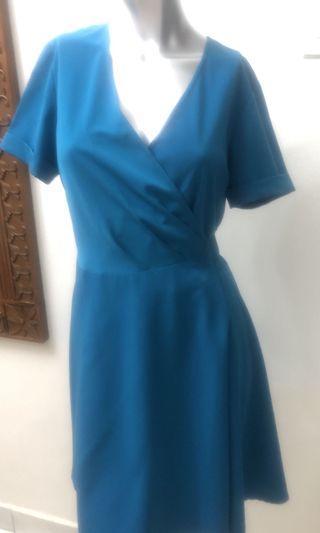 Key Ng Turquoise Blue Dress