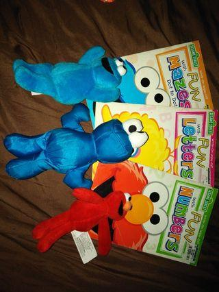 Stufftoys and activity books