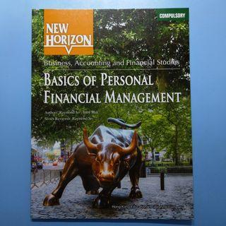 BAFS Personal Finance New Horizon 教科書