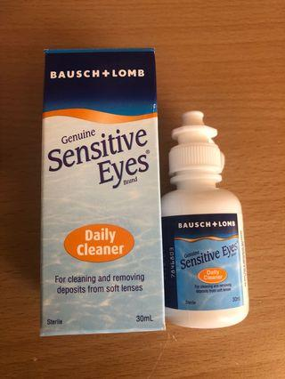 Bausch + Lomb contact lens daily cleaner