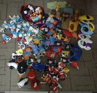 Disney mcdo jollibee toys