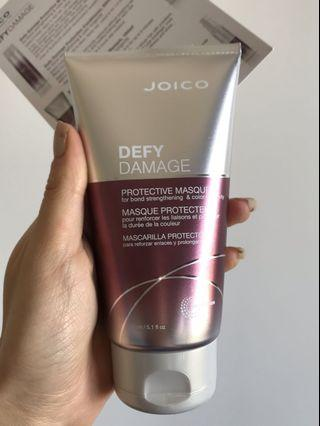 Joico defy damage hair protective masque mask