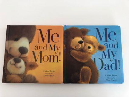 Me and my mom / Me and my dad