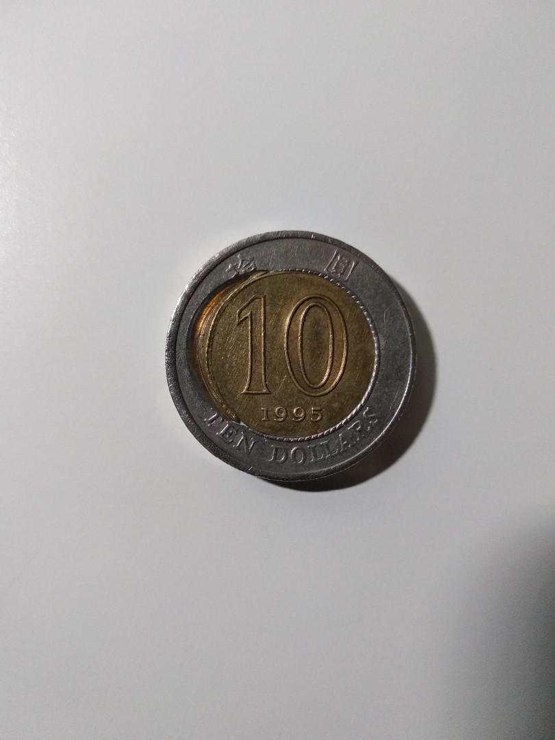 錯體10元硬幣