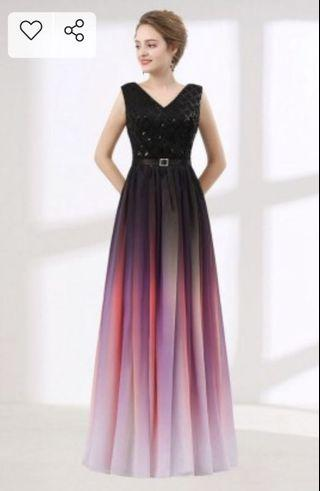 🚚 Wedding guest maxi dress