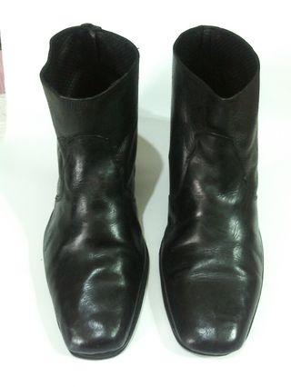 Sepatu Boots kulit model jangle cowboy