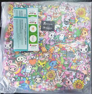 🚚 Tokidoki mother and daughter bag with tokidoki playground ticket x4
