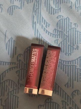 Maybelline lipstick senssasional power matte