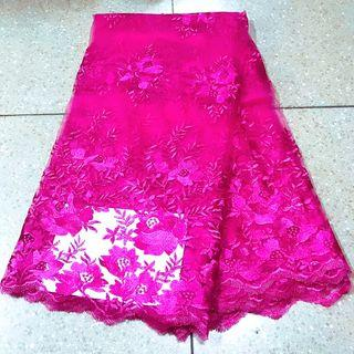 Beautiful lace 可窗簾可衣服任意DIY 5碼為一塊