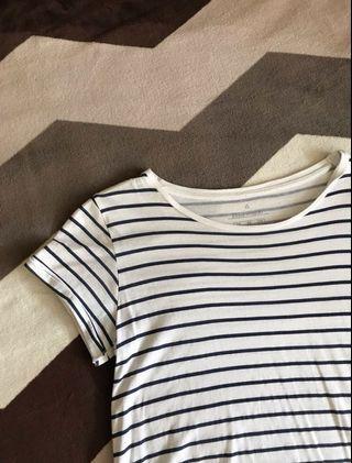 🚚 basic striped tshirt