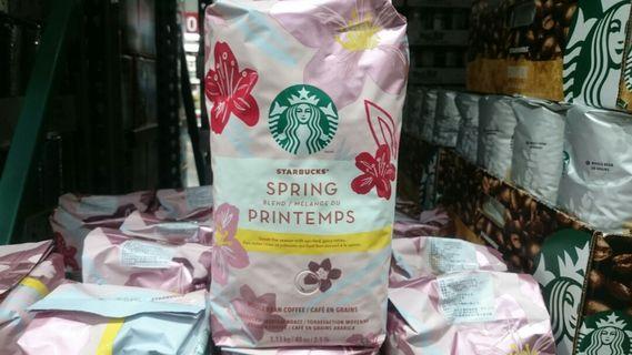 🚚 STARBUCKS星巴克春季限定咖啡豆1.13kg