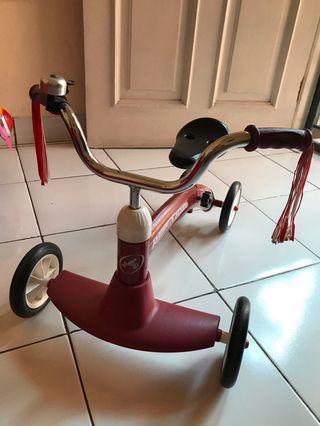 Sepeda balance bike tricycle radio flyer
