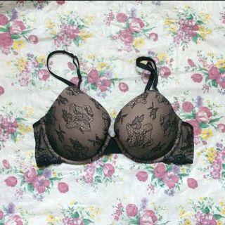 Victoria's Secret Biofit Black Lace Bra
