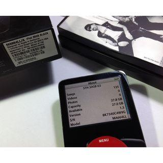 ipod classic u2 special edition 30gb gen 5.5