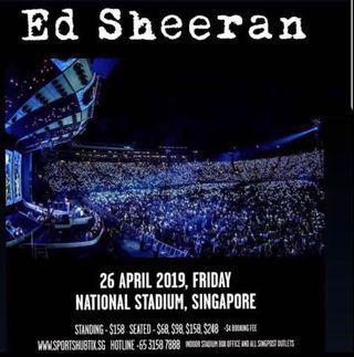 Ed Sheran Concert