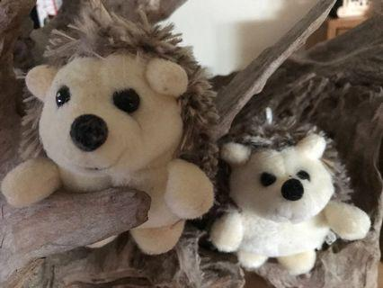 #ENDGAMEYourExcess Porcupine Plushies (Couple Set