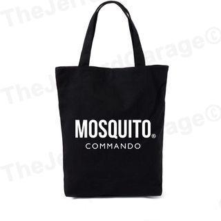 Commando Mosquito Tote Bag
