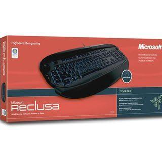 Dijual Microsoft Reclusa Gaming Keyboard (Cocok Buat Para Pemain Game)
