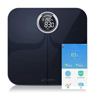 (F202) Smart Weighing Scales YUNMAI Premium Bluetooth Body Fat Scale with Free iOS and Android APP