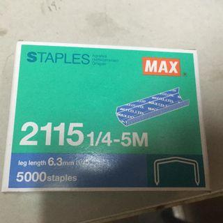 STAPLES 6.3mm 釘書機釘
