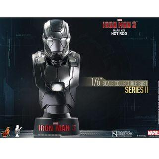 Hot Toys Iron Man 3: Mark XXII 'Hot Rod' 1/6th Scale Collectible Bust (Series II)