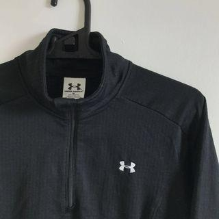 under armour black sweater
