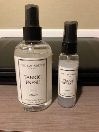 🚚 The Laundress Fabric Fresh Crease Release