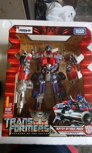 Takara Tomy Leader Class Optimus Prime and Jetfire