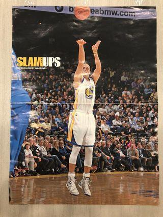 1c810b2eb484 Stephen Curry SLAM Magazine Poster Shooting  EndgameYourExcess