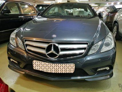 MERCEDES-BENZ E250 COUPE 2010