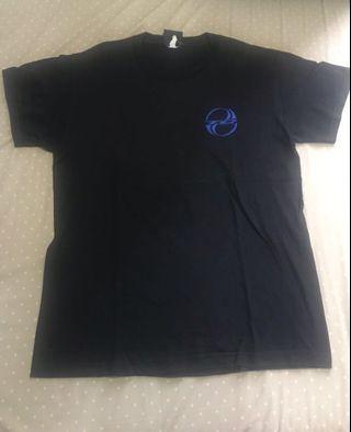 TJ Kaos t shirt hitam black