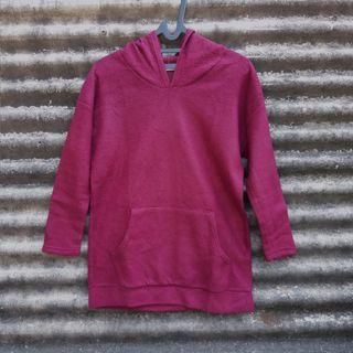 Maroon hoodie