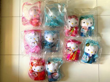 McDonald's Hello Kitty Wedding Plush Toys Collectibles #ENDGAMEyourEXCESS