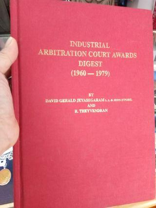 Industrial Arb Court Awards Digest-1960-1979