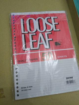 Joyko Loose leaf 50 lembar 26 ring