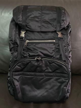 Preloved Agnes B Backpack Haversack Black Bag #ENDGAMEyourEXCESS