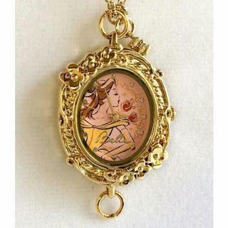 Disney Princess Belle Beauty Necklace Bracelet Watch
