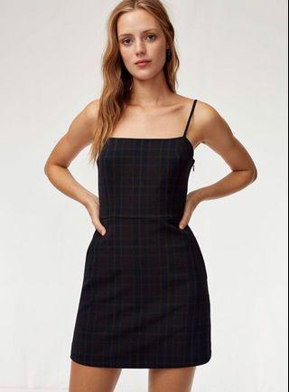 Aritzia- Wilfred Isabelle Dress Solid Black
