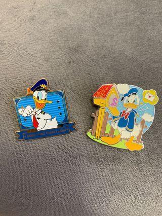 迪士尼襟章 Disney pin 唐老鴨
