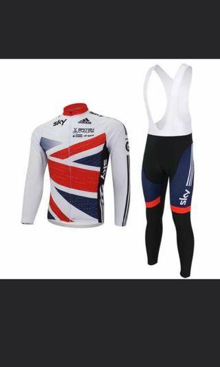 Cycling Jersey and bib Set