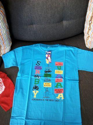 t shirt oleh oleh surabaya